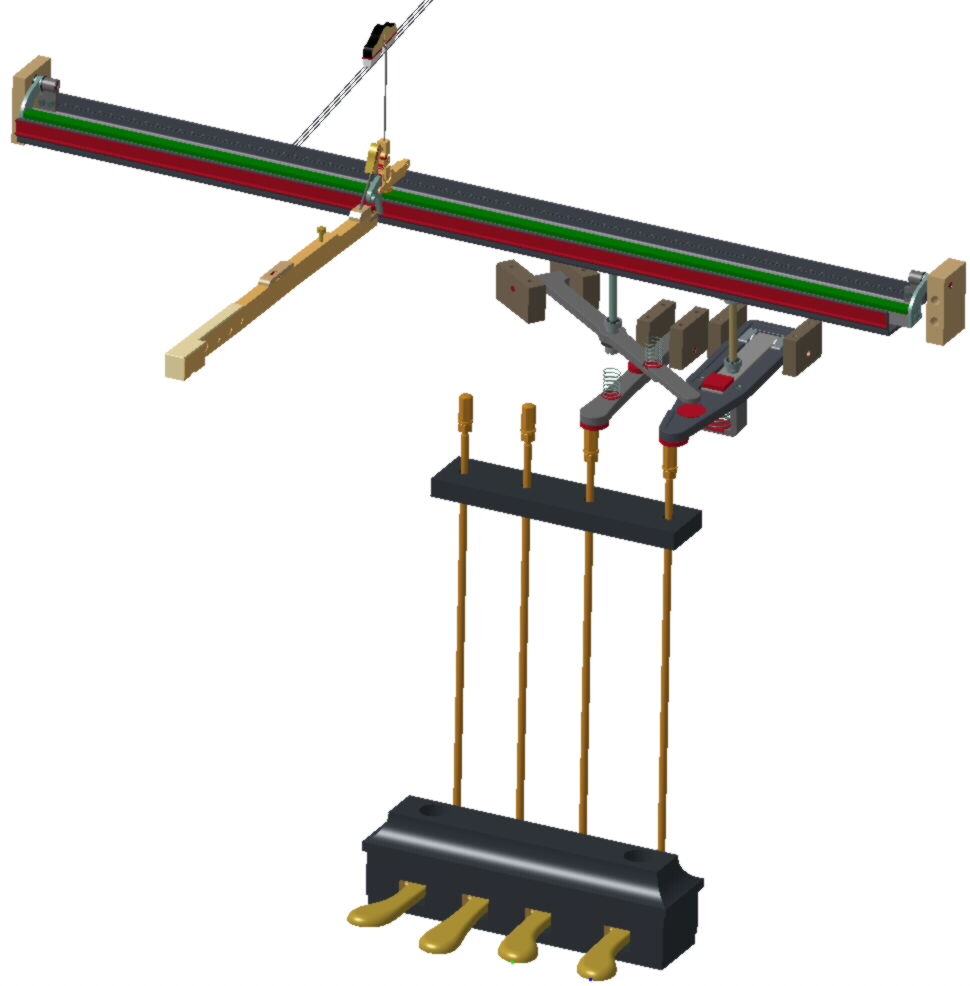The Harmonic Piano Pedal Mechanism